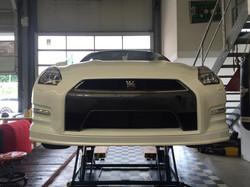 Vollfolierung Nissan GTR -4