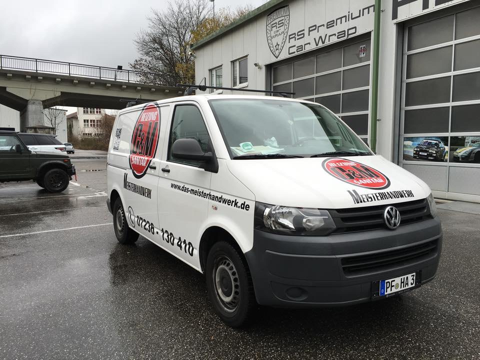 Beschriftung VW T5 - 3