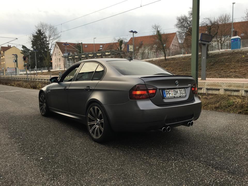 BMW M3 Matt Grau 2