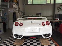 Vollfolierung Nissan GTR -3