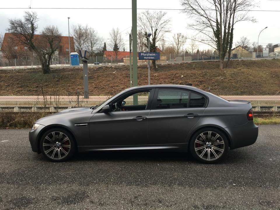 BMW M3 Matt Grau 3