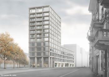 Europaallee (Stadtraum HB Baufeld E), Zürich