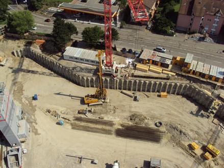 Wohnüberbauung Triemli (Baugrube und Spezialfundationen)
