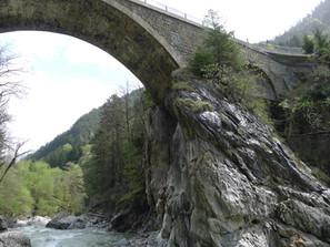 Gotthardstrasse, Reussbrücke Meitschligen