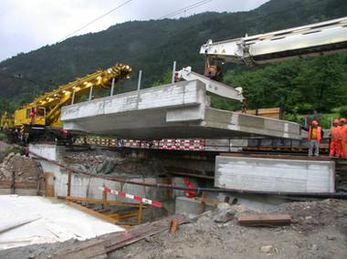 Plattenbachbrücke SBB, Gotthardlinie SBB