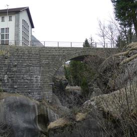 Gotthardstrasse, Reussbrücke Pfaffensprung