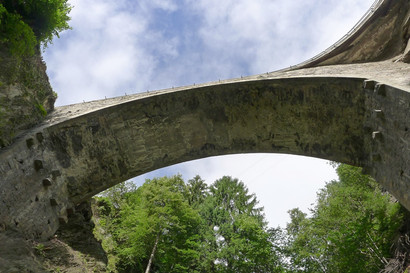 Gotthardstrasse, Brücke Intschialpbach (Instandsetzung)