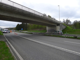 A51, Überführung Grenzstrasse, Bachenbülach