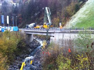 Klausenstrasse, Neue Schächenbrücke, Brügg