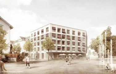 Neues Wohnen am Bahnhof Flawil