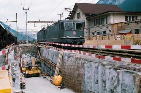 Ausbau Bahnhof Erstfeld