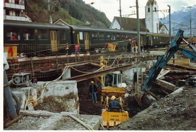 Ausbau Bahnhof Flüelen