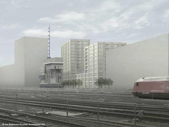 Europaallee (Stadtraum HB Baufeld G), Zürich