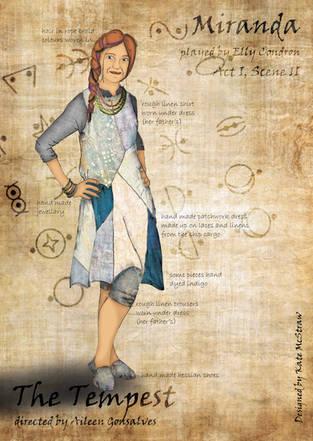 Miranda costume design