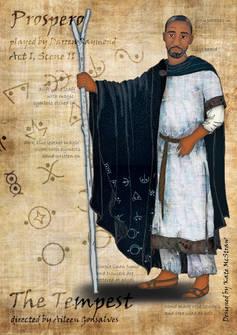 Prospero costume design