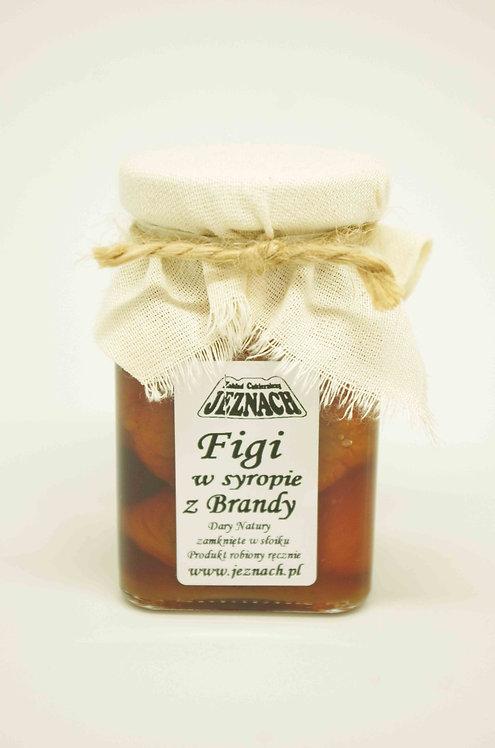 Figi w syropie z  brandy