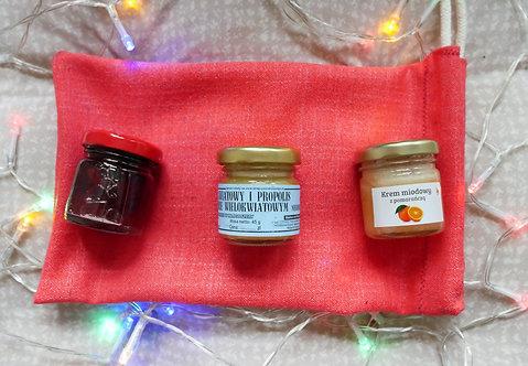 Zestaw prezentowy w woreczku Mały Czerwony