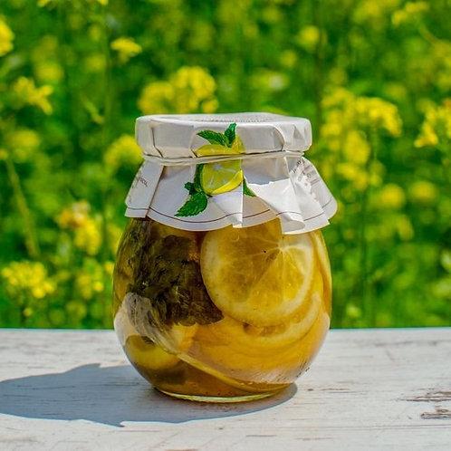 Cytrynki w syropie z miętą