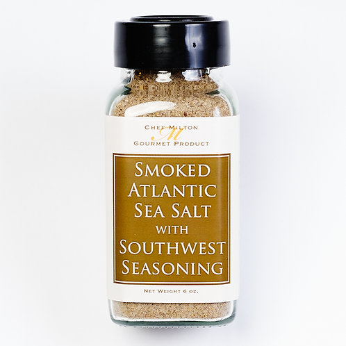 Smoked Sea Salt with Southwestern Seasoning