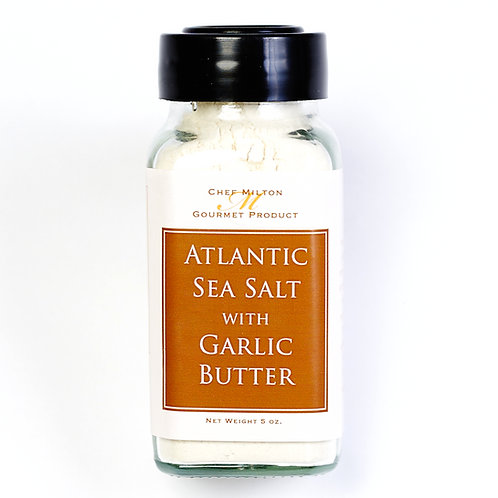 Atlantic Sea Salt with Garlic Butter