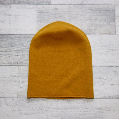 Шапка-колпак цвет яркая горчица
