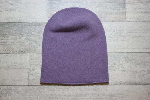 Шапка-колпак фиолетовый