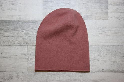 Шапка-колпак пыльно-розовый