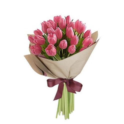 Ramo de 20 Tulipanes Fiusha