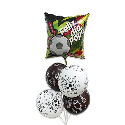Ramillete de globos Feliz día Papá