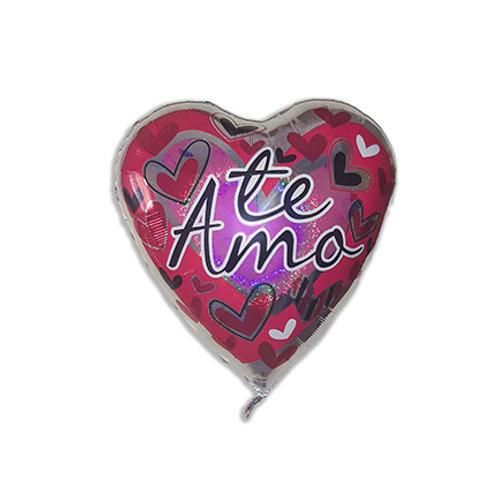 """Globo Individual Amor 36"""""""