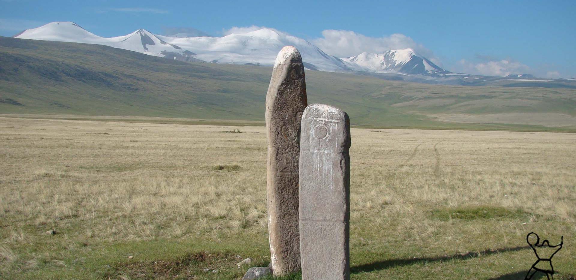 Стеллы Укока. Ukok. Altai.