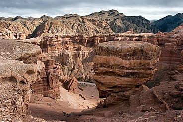 Чарынский каньон. Казастан.