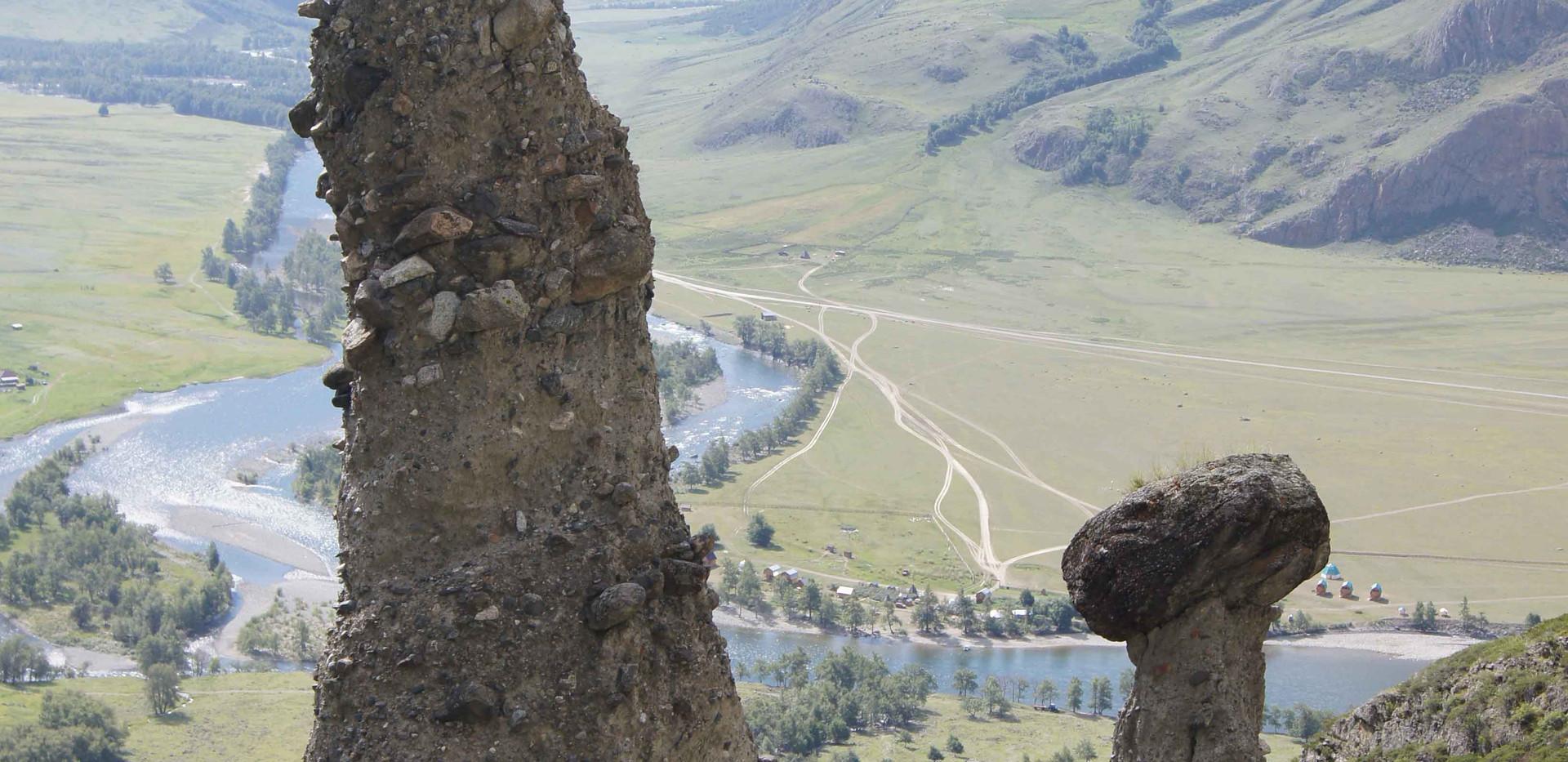 Каменнные грибы. Алтай-Этнотур.