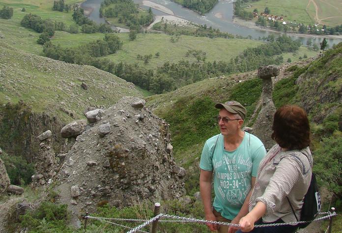 На каменных грибах. Алтай-Этнотур.
