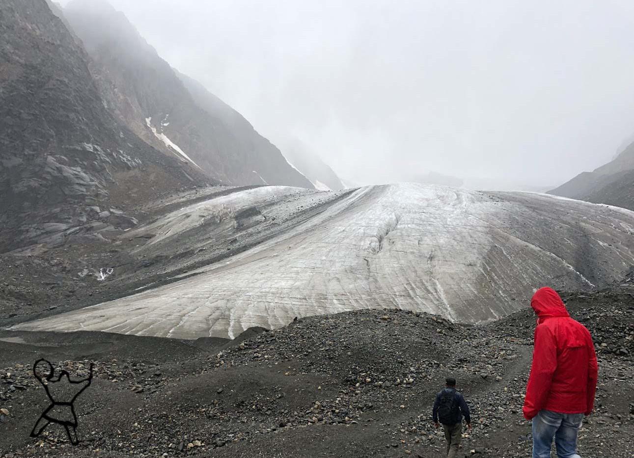 Ледник Большой АкТру. Алтай.