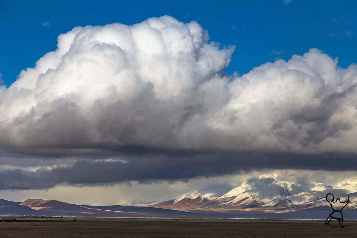 Chui steppe. Altay.