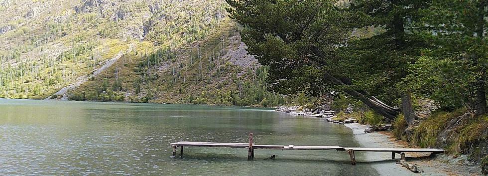 Мультинское озеро. Алтай-этнотур.