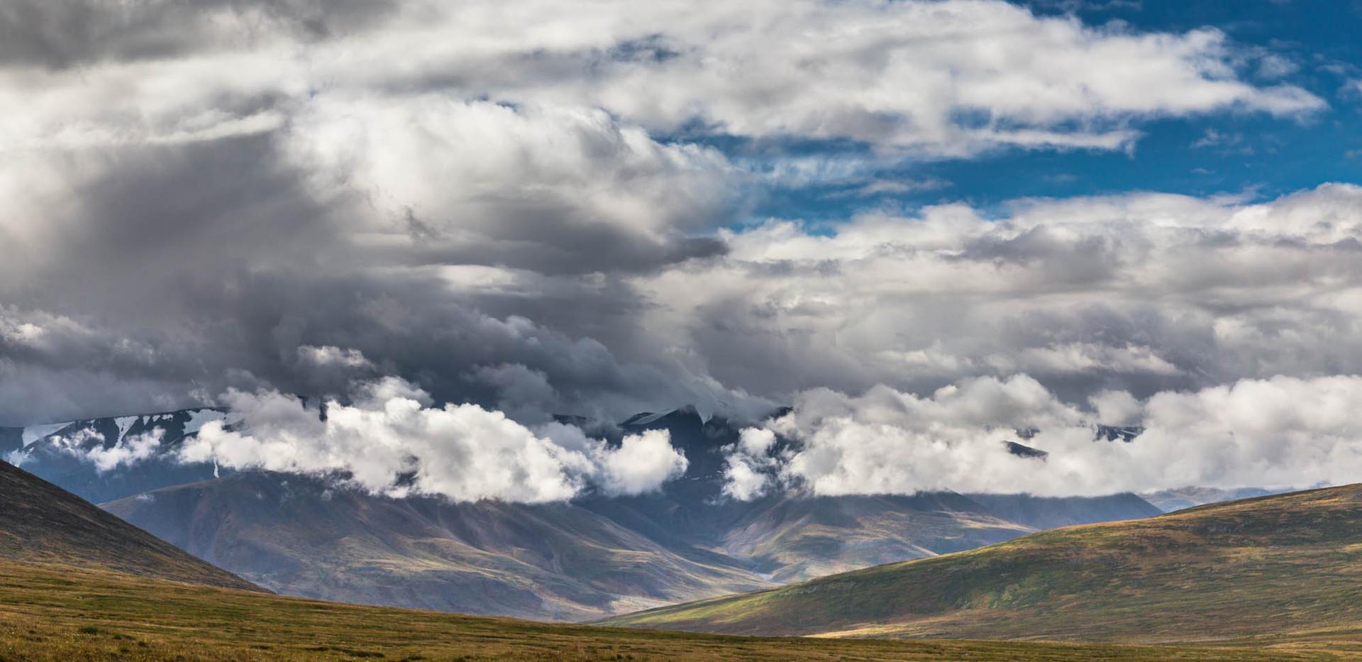 В долине реки Калгуты. Алтай-Этнотур.