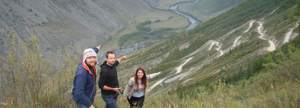 Перевал Кату Ярык. Алтай-Этнотур.