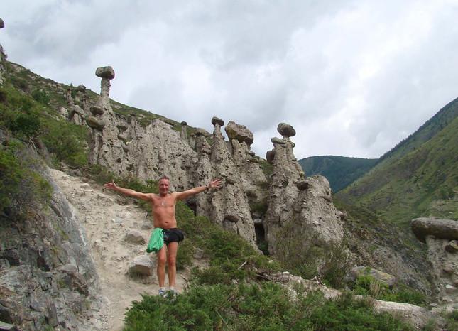 Каменные грибы. AkKurum. Altay.