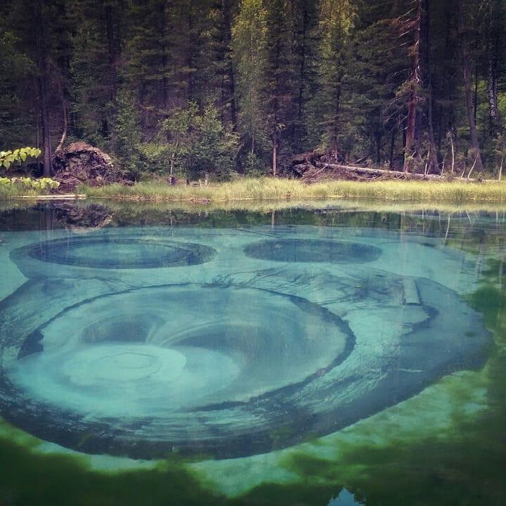 Гейзерное озеро. Алтай-Этнотур.