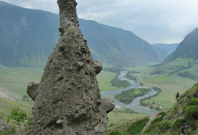 Каменные грибы. Алтай-Этнотур.