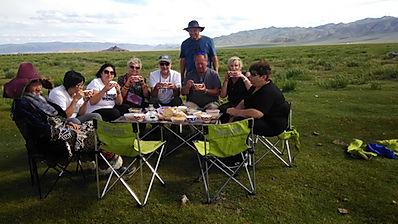 Друзья с Израиля в Монголии.