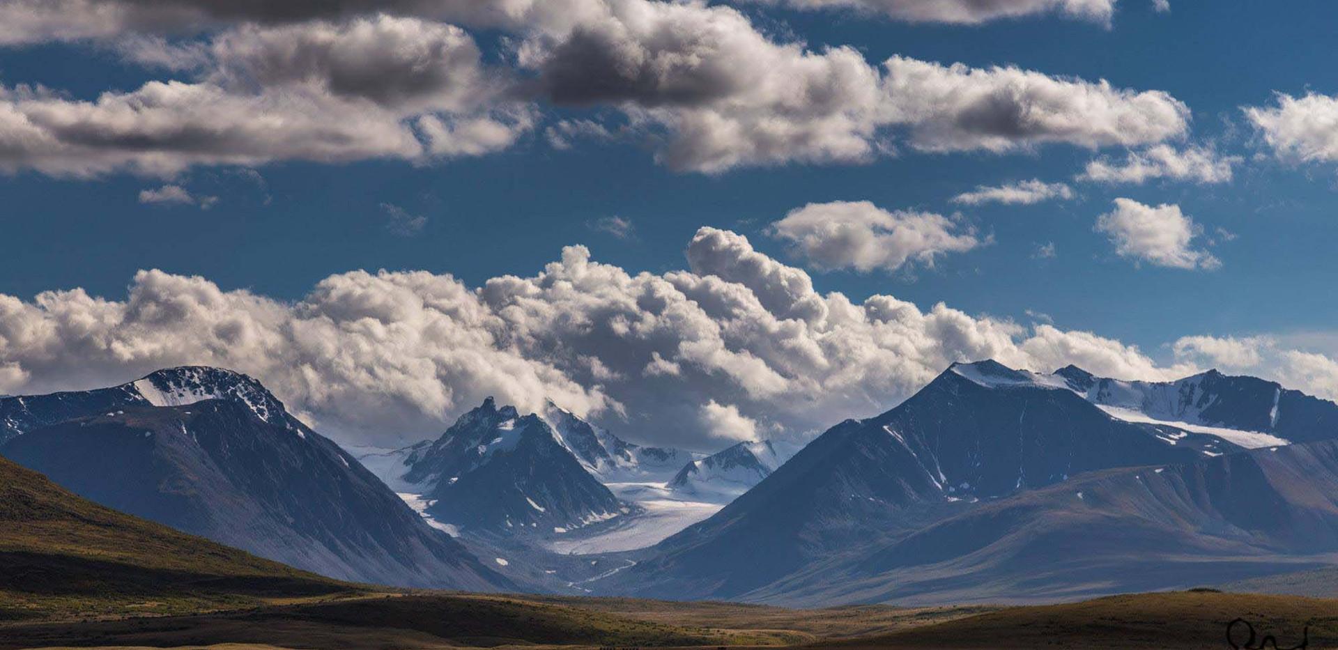 Kanas. Plato Ukok. Altai.