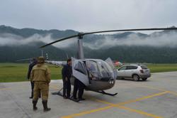 Туры на вертолетах в Горном Алтае.