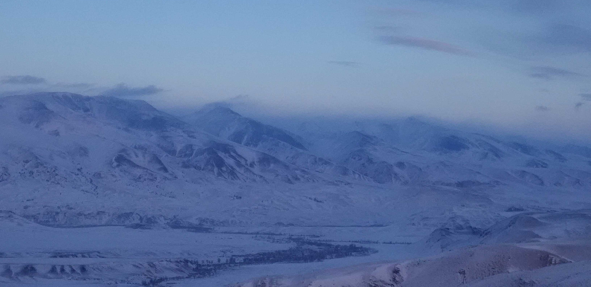 Курайский хребет. Алтай-Этнотур.