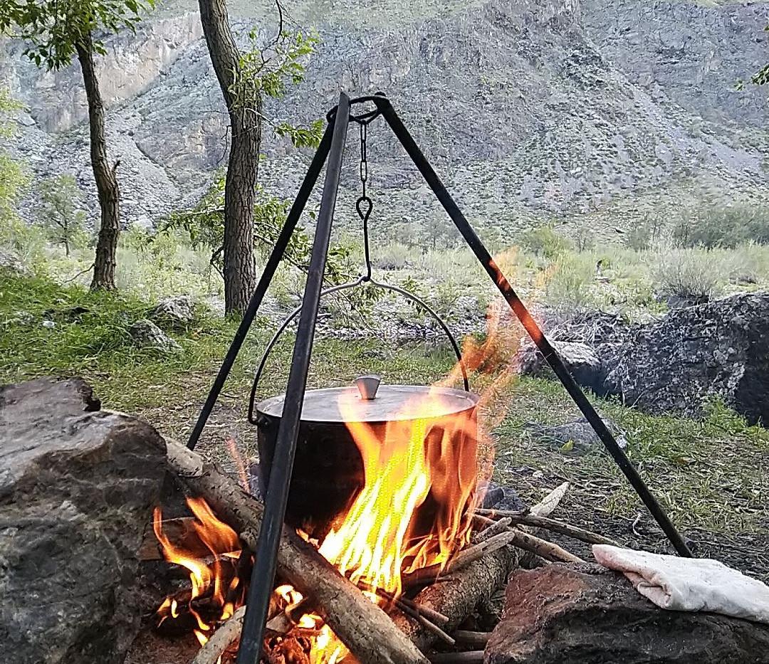 Огонь. Алтай-этнотур.