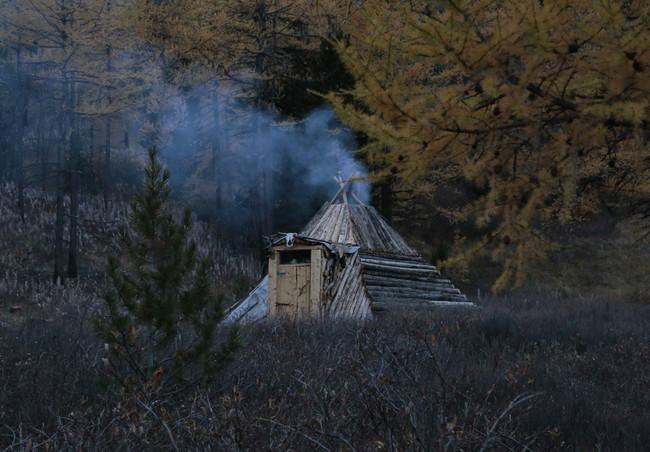 Чадыр на озере Куектанар.