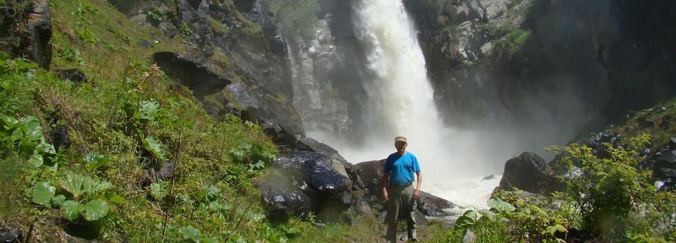 Водопад Куркуре. Алтай-Этнотур.