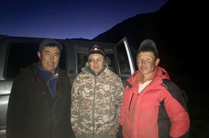 Чабаны Монгольского Алтая